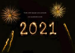 La Société des Produits G. Vernier vous souhaite une excellente année 2021!