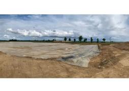 Chantier de la future usine de creation d'aromes alimentaires VERNIER à Provins 77